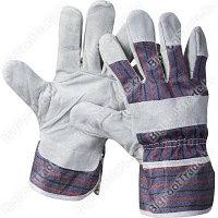 Перчатки рабочие  из спилка, 5 пар