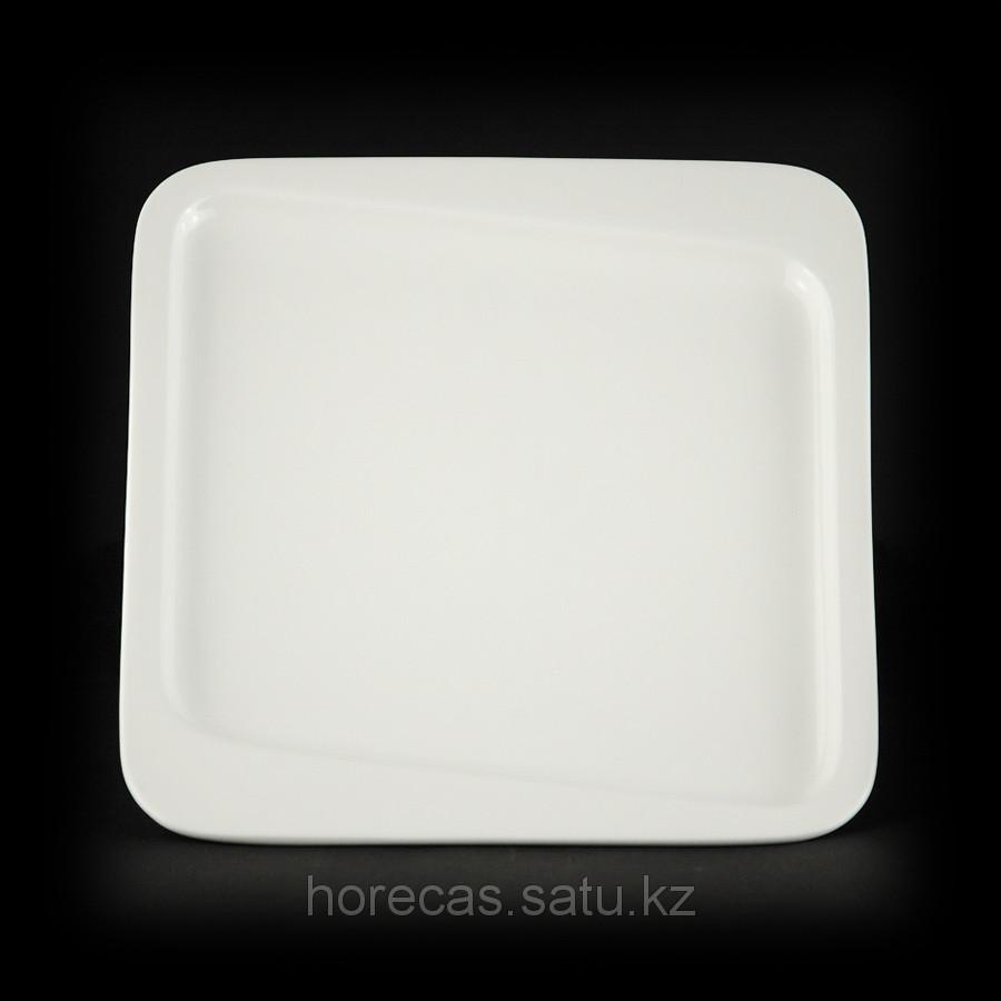 Тарелка мелкая квадратная «Sam&Squito» 300 мм [JX82-A001-04]