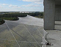 Защитно-улавливающая сетка размер 3,5 х 6 метр