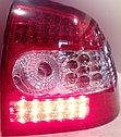 Фонари задние диодные красно-белые Лада Приора, фото 2