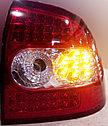 Фонари задние диодные красно-белые Лада Приора, фото 3