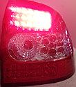 Фонари задние диодные красно-белые Лада Приора, фото 4