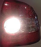 Фонари задние диодные красно-белые Лада Приора, фото 6