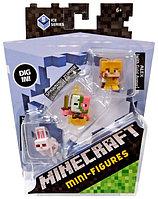 Minecraft Набор из 3 минифигурок (5 сезон) - Кролик, Свинозомби, Алекс