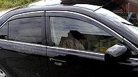 Ветровики (дефлектор окон) на Camry V40/45 с железным молдингом