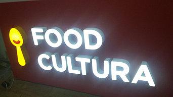 Выаеска для кафе Food Cultura 2