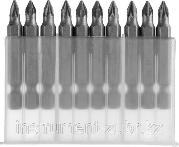 """Биты MIRAX PZ№1, тип хвостовика E 1/4"""", длина 50мм, 10шт, фото 2"""