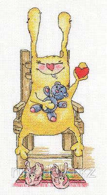 """Набор для вышивания крестом """"Привет!"""""""