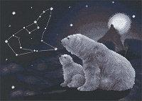 """Набор для вышивания крестом """"Полярная ночь"""""""