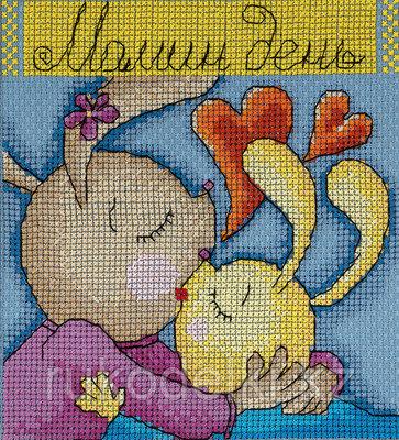 """Набор для вышивания крестом """"Праздничные миниатюры. Мамин день"""""""