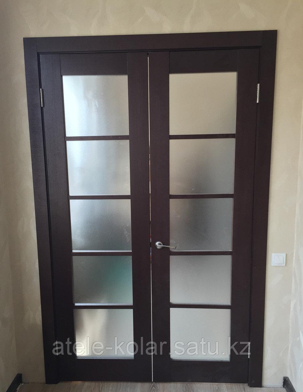Межкомнатная двупольная дверь - фото 2