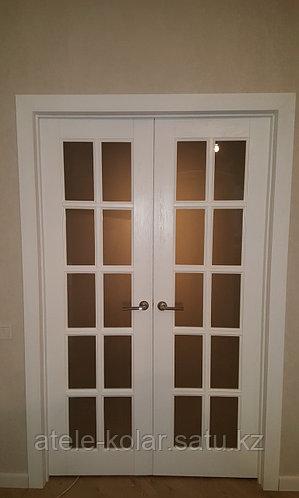 Дверь двухстворчатая нестандартная на заказ