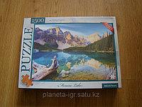 Пазлы 1500 элементов картонные, фото 1