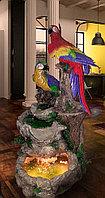 Водопад с попугаями
