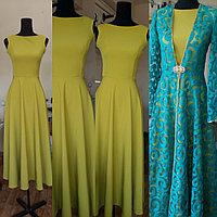Женский комплект (платье+накидка)