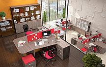 Стол офисный криволинейный