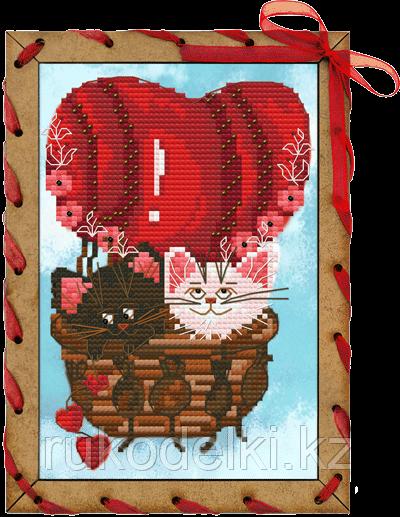 """Набор для вышивания крестом """"Шар любви"""""""