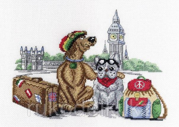 """Набор для вышивания крестом """"В Лондоне"""""""