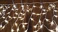 Гирлянда светодиодная ДОЖДИК (Бахрома) 8х0,7м,последовательное соединение(папа-мама), теплый, белый, фото 3