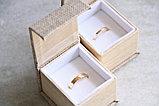 """Кольцо обручальное """"Алмазные грани"""" , фото 9"""