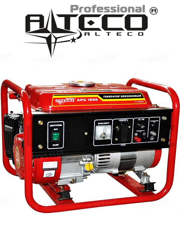 Бензиновый генератор Alteco APG-1500 (Алтеко)