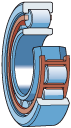 Цилиндрические роликоподшипники