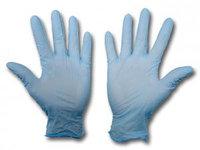 Перчатки нириловые нестерильные смотровые, неопудреные, пара
