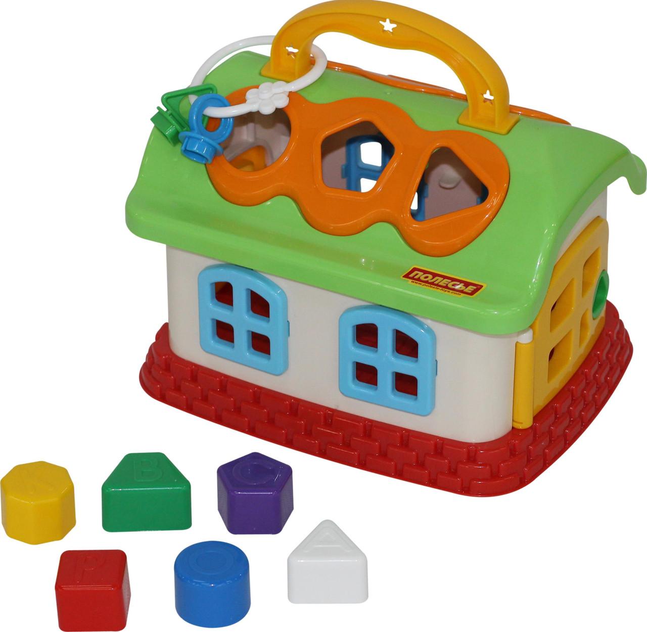 Сказочный домик в сеточке 48745