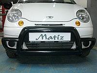 Передняя губа (кенгурятник) на Daewoo Matiz, фото 1