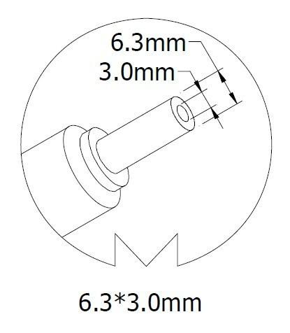 Автоадаптер для ноутбука TOSHIBA 19Вольт 6.3A 120Вт 6.3*3.0мм