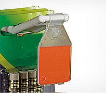 Ценникодержатель на крючок откидной PP-TAG 27х30 мм, цвет прозрачный