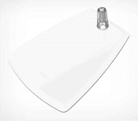 Подставка пластиковая под иголку DELI-FOT-ST, цвет белый