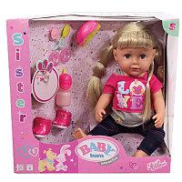 Интерактивная кукла Baby Born  Бэби Борн Кукла Сестричка, фото 1