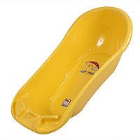 Детская ванночка  Dunya Plastik Фаворит 100 см желтый