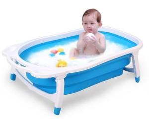 Детская складная ванна  FROEBEL 85 см белый/бирюзовый