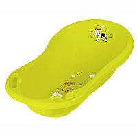 Детская ванночка  ОКТ овальная 84 см. ВЕСЕЛАЯ ФЕРМА зеленый