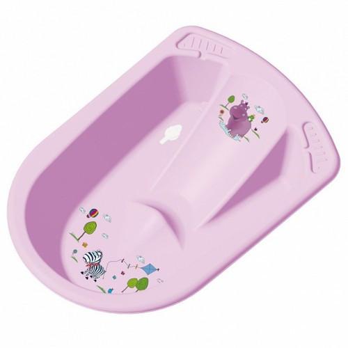 Детская ванночка ОКТ анатомическая HIPPO лилова