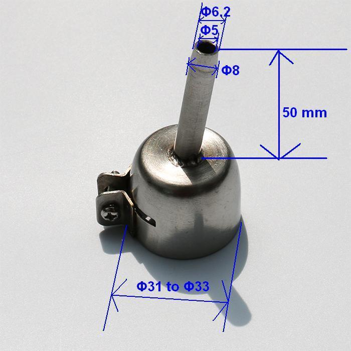 Щелевая насадка для сварки HERZ 5 мм