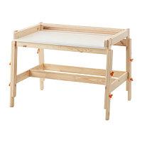 Детский письменный стол ФЛИСАТ регулируемый ИКЕА, IKEA