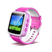 Часы GPS трекер для детей Q80 (Оригинал) Цветной экран!