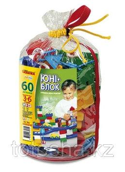 Юни-блок 0705 конструктор 60 деталей