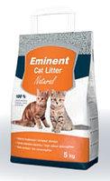 Натуральный комкующийся бентонитовый наполнитель Eminent Cat Litter Natural