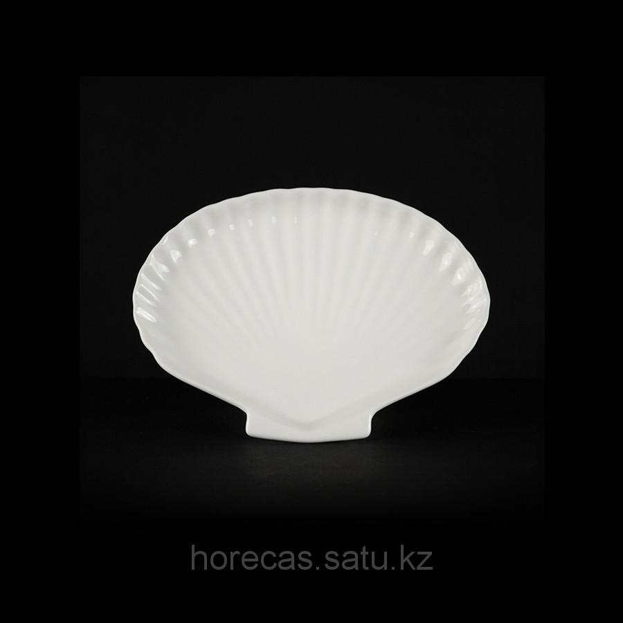 Блюдце для соуса Волна «Chan Wave», 2 отделения [LQ-Q695]