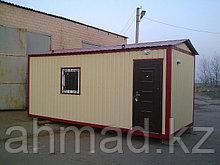 Бытовка (контейнер) утепленная, под жилье, под офис 6 метров. Алматы.