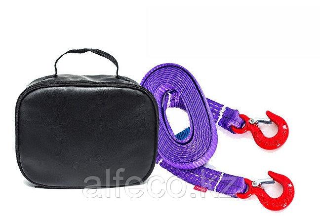 Буксировочный ремень Тplus 4/6 т 6 м (легкий класс) Крюк/Крюк+сумка