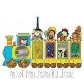 Игровая стенка для детского сада «Паровозик»