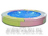 Круглый водяной батут