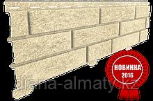 Акриловая Фасадная панель STONE HOUSE (Стоун Хаус) под кирпич, Песочный