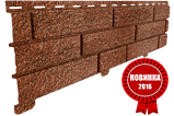 Акриловая Фасадная панель STONE HOUSE (Стоун Хаус) под кирпич, Красный, фото 2