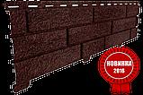 Акриловая Фасадная панель STONE HOUSE (Стоун Хаус) под камень и кирпич, цвет: Кирпич-Графитовый, фото 9